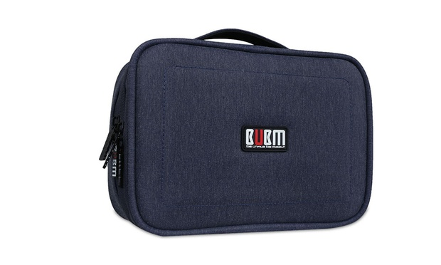 BUBM Double Layered Travel Gadget Organiser Bag: S ($25), M ($29) or L ($35)