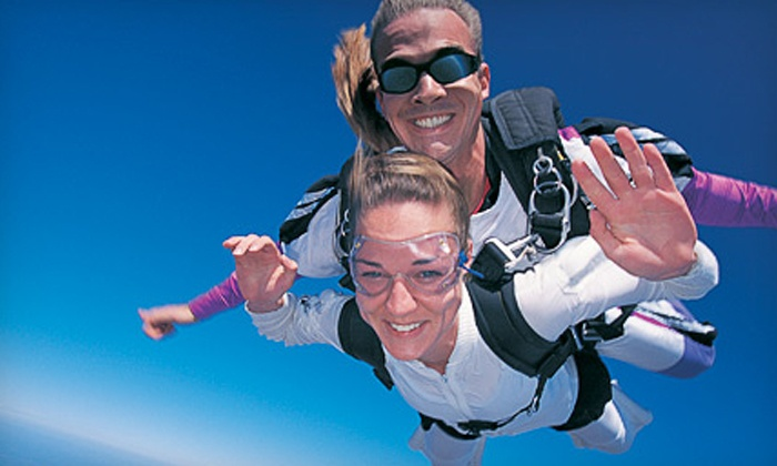 Skydiving Great Lakes - Skydiving Great Lakes: One or Two Tandem Skydiving Jumps from Skydiving Great Lakes (50% Off)