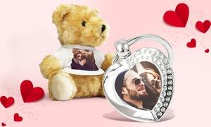 PrinterPix: Un peluche personalizzato e un portachiavi personalizzato per il tuo San Valentino con PrinterPix (sconto 61%)