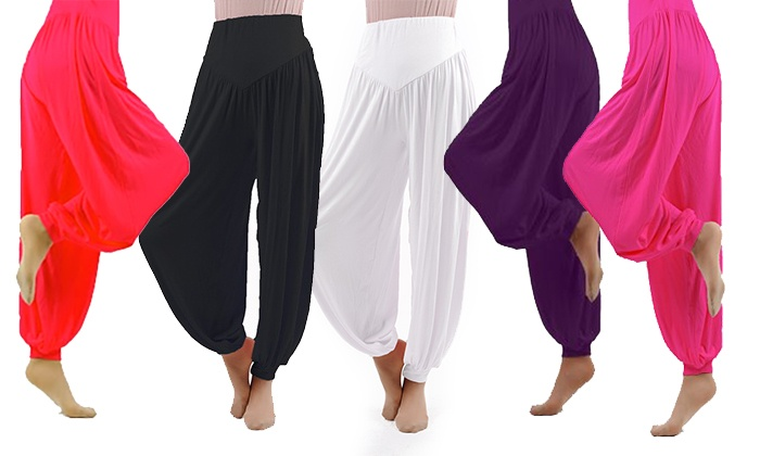 Pantaloni da yoga in cotone
