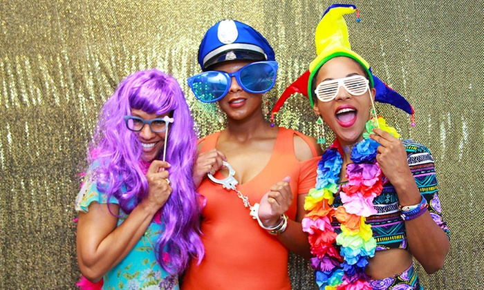 MovieWhip - Houston: Three- or Four-Hour PhotoBooth or Two- or Four-Hour VideoBooth Rental at MovieWhip (77% Off)