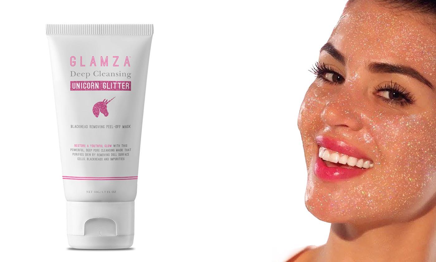 Pink Glitter Unicorn Peel-Off Mask