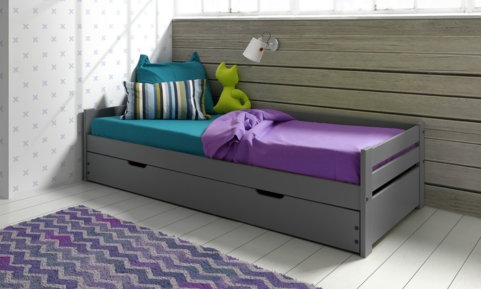 lit gigogne matelas en option groupon. Black Bedroom Furniture Sets. Home Design Ideas