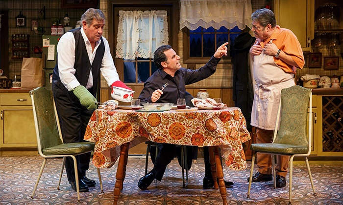 """Dinner with the boys Starring Dan Lauria"" - Theatre Row / The Acorn Theatre  : ""Dinner with the Boys"" Starring Dan Lauria at The Acorn Theatre on Tuesdays–Sundays (Up to 53% Off)"