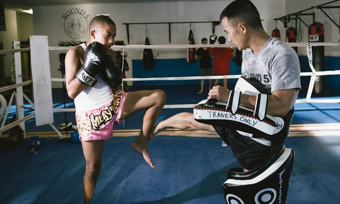 Round 5 Fitness - Washington Manor - Bonaire: Four Weeks of Unlimited Martial Arts Classes at Round 5 Fitness (63% Off)