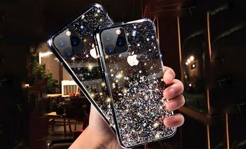 Glittery Star Case for iPhone