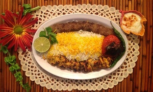 House of Kabob: Persian Cuisine at House of Kabob (Up to 43% Off). Two Options Available.