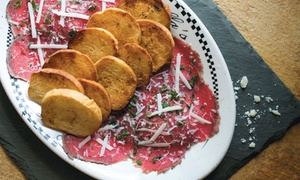 Bella's Italian Café: Italian Food and Drinks for Two or Four at Bella's Italian Café (Up to 51% Off)