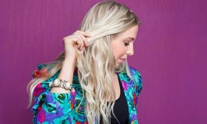 Tina at Tek Salon: Cut with Optional Full Color, Partial Highlights, or Full Highlights from Tina at Tek Salon (Up to 57% Off)