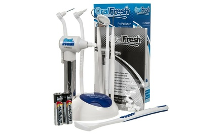 One, Two or Three Oral Fresh Pro Polisher Teeth Polishing Sets