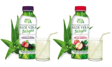 Succo di Aloe SanaVita da 1 L
