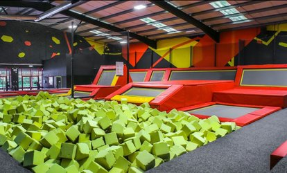 One-Hour Bouncing Session for Up to Four at Infinity Trampoline Park Inverness (Up to 44% Off)