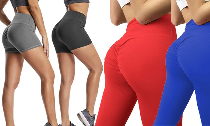 070cb47276a10 Up To 85% Off Scrunch Bum Shorts or Leggings | Groupon