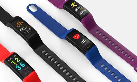F07 Activity-Tracker mit mit farbigen OLED-Display mit Touchfunktion in der Farbe nach Wahl inkl. Versand (Frankfurt)