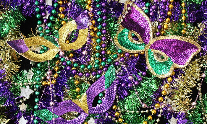 """Krewe du Blue Mardi Gras featuring John """"Papa"""" Gros Band and Brass-A-Holics - House of Blues Houston:  Concert Package for Krewe due Blue Mardi Gras feat. John """"Papa"""" Gros Band & Brass-A-Holics on Feb. 4 at 9 p.m."""