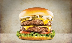 Burger World: AED 30 or AED 60 Value Voucher Toward Burgers and Drinks at Burger World, IBN Batuta Mall