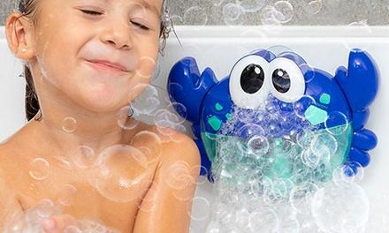 Cangrejo de burbujas musical para el baño