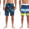 Alpine Swiss Men's Quick Dry Swim Board Shorts