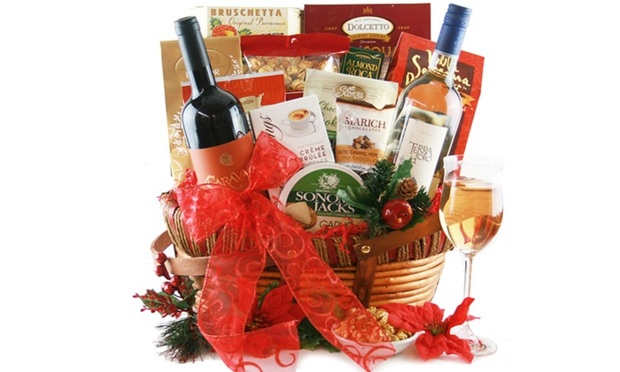 Custom or Pre-Made Gift Baskets - Design It Yourself Gift Baskets ...