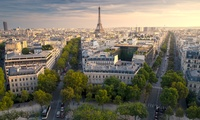Vor den Toren von Paris: 2 bis 4 Tage für Zwei opt. mit Frühstück und Blick auf den Eiffelturm im Hôtel Atrium