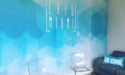 image for One or Three Whole-Body Cryotherapy Sessions at Cryo Miami (Up to 53% Off)