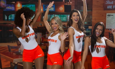 $0 for $15 towards Hooters Mobile App Order from Hooters