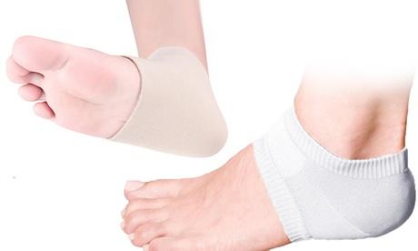 QPower Premium Moisturizing Gel Cushion for Feet