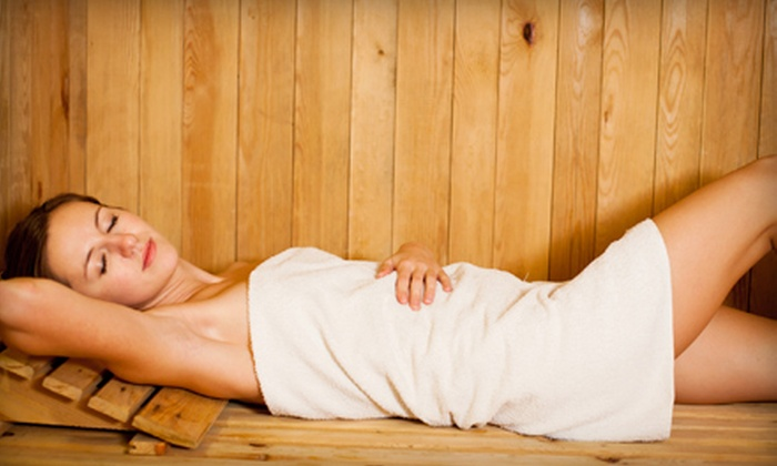 The Fix Therapy - Viera North: Infared Sauna, Light Therapy, and Muscular Therapy Packages at The Fix Therapy (Up to 59% Off). Three Options Available.
