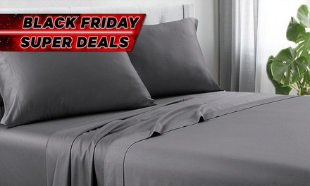 $39 for Any Size of 1200TC Cotton Rich Sheet Set (Don't Pay up to $249)