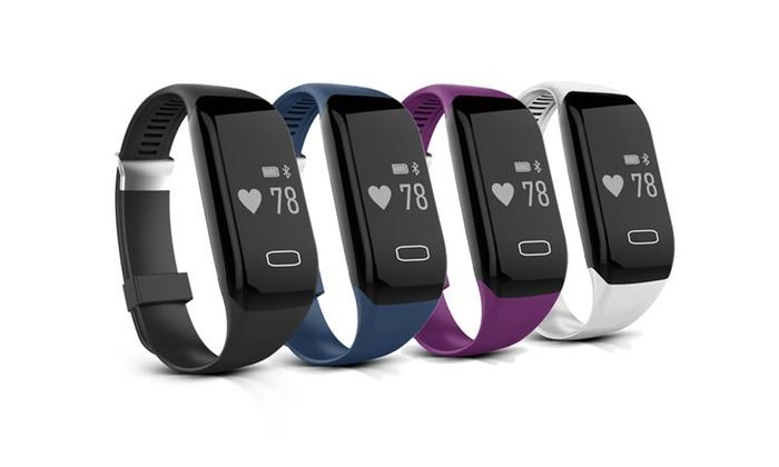 Uerotek LTD: Smart-Bluetooth Sport Activity-Armband mit Herzfrequenzmesser in der Farbe nach Wahl inkl. Versand (75% sparen*)