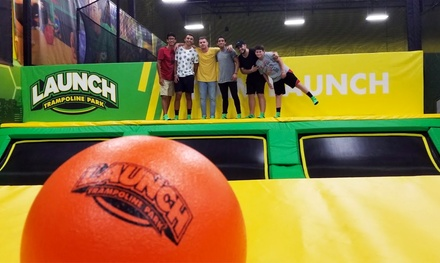 Jump Packages at Launch Trampoline Park - Doral (Up to 39% Off). Six Options Available.
