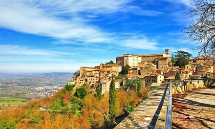 Umbria, Castello Di Rosceto: fino a 5 notti in appartamento con colazione e drink di benvenuto per 2 persone