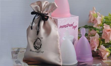 Copa menstrual de silicona
