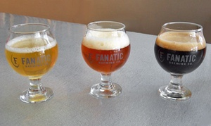 Fanatic Brewing Company: Brewery Outing for Two or Four at Fanatic Brewing (Up to 44% Off)