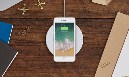 Belkin Boost Up 7.5W Fast Wireless Charging Pad for iPhone X, iPhone 8 Plus, iPhone 8, S8, S9