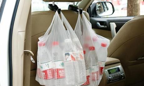 1 o 2 ganchos para el asiento del coche