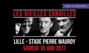 Décibels Productions: 1 place en catégorie 2 ou 1 pour le concert des Vieilles Canailles, le 10 juin 2017 à 20h dès 79€ au Stade Pierre Mauroy