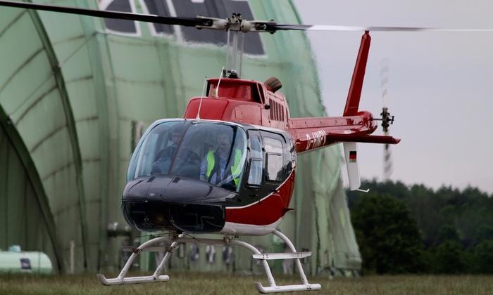 Aveo Flight Academy - Mehrere Standorte: 10, 15 oder 25 Min. Helikopter-Rundflug für 1 Person bei der Aveo Flight Academy (bis zu 50% sparen*)