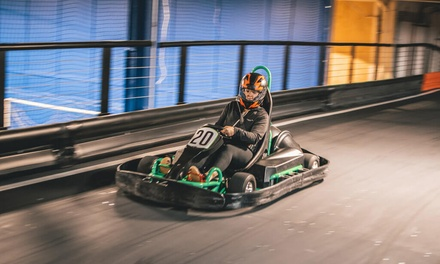 Two Indoor Go-Kart Rides for One, Two, Four, or Six at Legacy 925 (Up to 46% Off)
