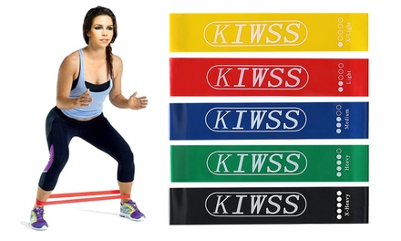 .95 for a Set of HeavyDuty Resistance Sports Fitness Loop Bands