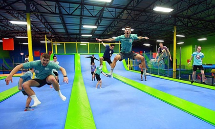 All-Access Passes or Jump Pass, Jumping World Allen (Up to 35% Off). Four Options Available.