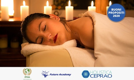 Massaggiatore olistico: corso professionalizzante e certificazione IPHM con Future Academy (sconto 85%)