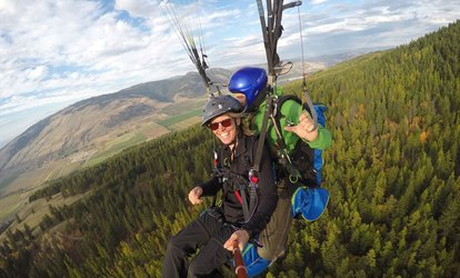 image for C$199 for C$235 Worth of One Tandem Flight + Souvenir at Paraglide Canada