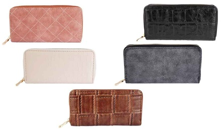Continental Clutch Zip Wallet