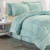 Luxury Home Printed Down-Alternative Bed-in-a-Bag Set (8-Piece)