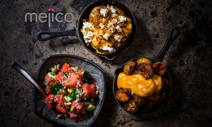 Mejico - Miranda - Westfield Miranda Shop: Nine-Dish Mexican Feast + Sangria or Beer for Two ($89), Four ($178) or Six People ($267) at Mejico Miranda (Up to $426)