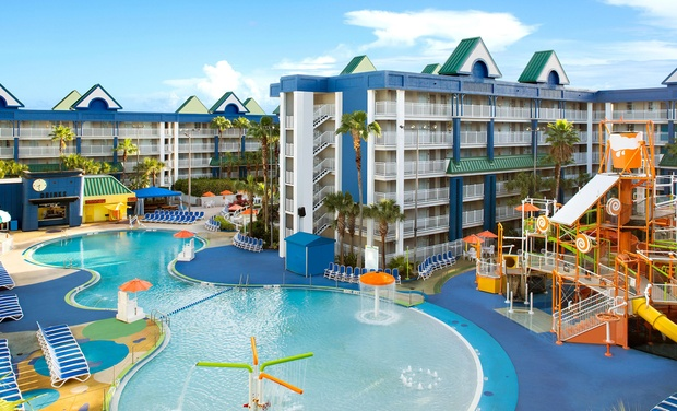 Holiday Inn Resort Orlando Suites Waterpark Florida Stay With Pizza Package