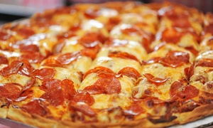 Villa Rosa Pizza & Restaurant: $23 for Two Large One-Topping Pizzas and 2-Liter Pepsi at Villa Rose Pizza & Restaurant ($37.40 Value)