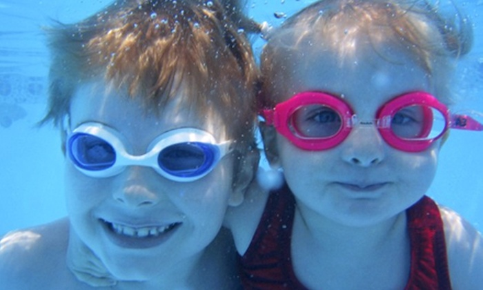 Swimtastic Swim School - Franklin: Birthday Party for 15, Three Open-Swim Family Passes, or Five Zumba Classes at Swimtastic Swim School (Up to 64% Off)