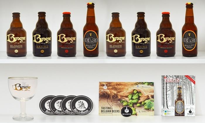 Belgibeer - Belgibeer: Une box dégustation de bières artisanales belges à 29,99 € avec Belgibeer